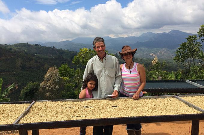 コスタリカ ラ・パスト―ラ農園