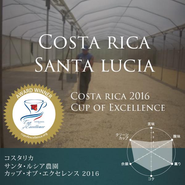 コスタリカ サンタ・ルシア農園 カップ・オブ・エクセレンス 2016