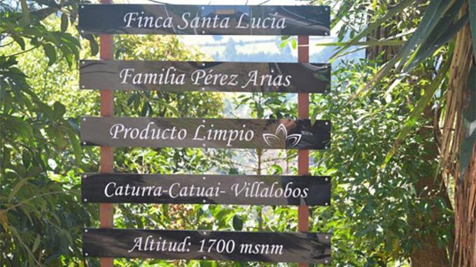 サンタ・ルシア農園