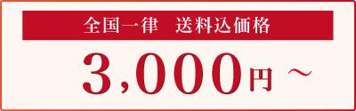 3000円から