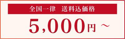 5000円から